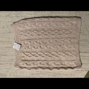 Free people cable knit skirt